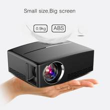 Full HD 1080P LCD Mini Projector 1800 LM Portable Multimedia Home Cinema Theater Video Movie Entertainment GP80 GP80UP(China)
