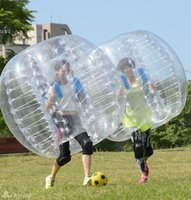 1.5m Bumper Ball 0.8mm PVC Inflatable Bubble Football Zorb Soccer Ball for Children Adult Family Outdoor Game Ball Sport Toys