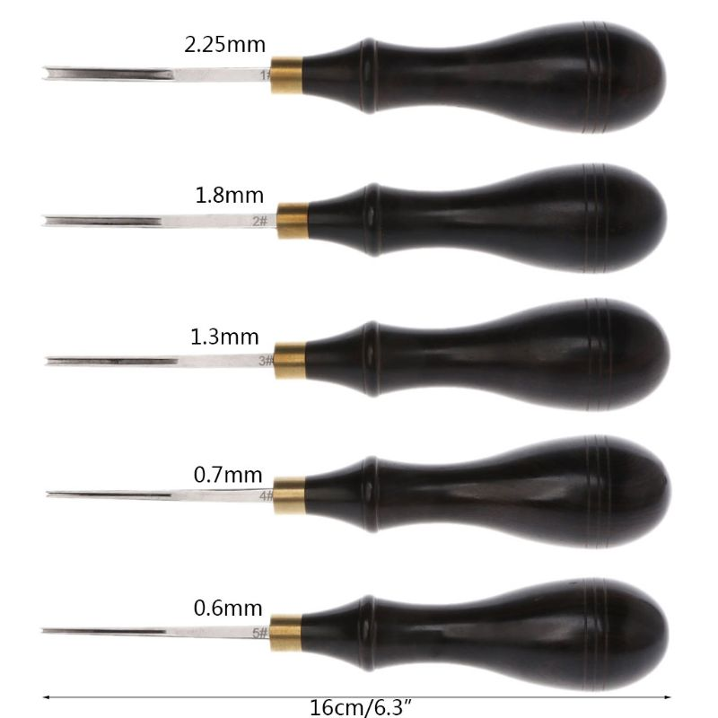 Edge Blade Ebony Ручка DIY Leathercraft Edger инструмент для обрезки скошенный режущий инструмент кромка скошенная сталь Кожа