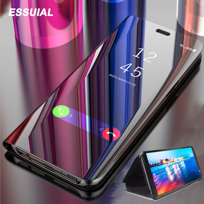 Smart Mirror Phone Case For Samsung Galaxy S10 S8 S9 Plus S7 S6 Edge S10e Note 10 8 9 J3 J5 J7 2017 J6 A3 A5 A6 A7 A8 2018 Cover