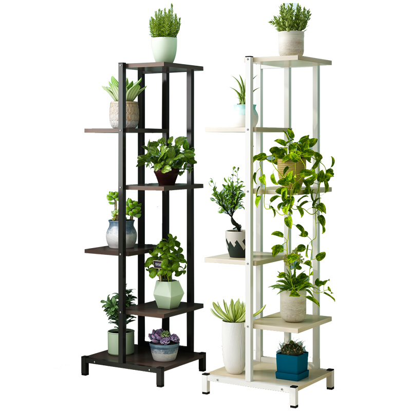 Luo Chlorophytum Flower Airs Household Multi-storey Indoor Iron Art Balcony A Living Room Bedroom To Ground Flower Rack Shelf