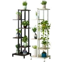 Luo Chlorophytum Flower Airs Household Multi storey Indoor Iron Art Balcony A Living Room Bedroom To Ground Flower Rack Shelf|Plant Shelves| |  -