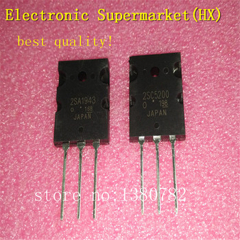 Free Shipping 20pcs/lots 10pcs 2SC5200  + 10pcs 2SA1943 TO3PL In stock! free shipping 10pcs mc145169dw