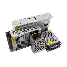 AC DC 110V 220V ספק כוח 12 V Led נהג 220V כדי 12 V 1A 2A 3A 5A 8.5A 10A 15A 20A שנאי Led 220V כדי 12 V אספקת חשמל