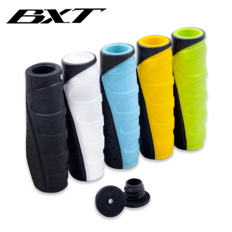2020 BXT durable mtb mountain bike handlebar grips lock handle grip bar end rubber handle bar cover <font><b>bicycle</b></font> <font><b>parts</b></font> accessories image