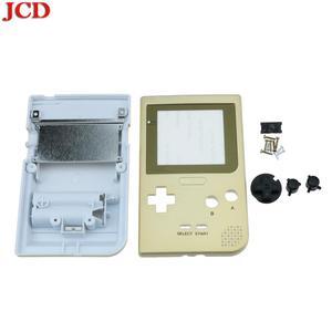 Image 5 - JCD لتقوم بها بنفسك عدة شفافة الإسكان شل استبدال ل Gameboy جيب ل GBP الذهب قذيفة الإسكان مع أزرار لوحات مطاطية