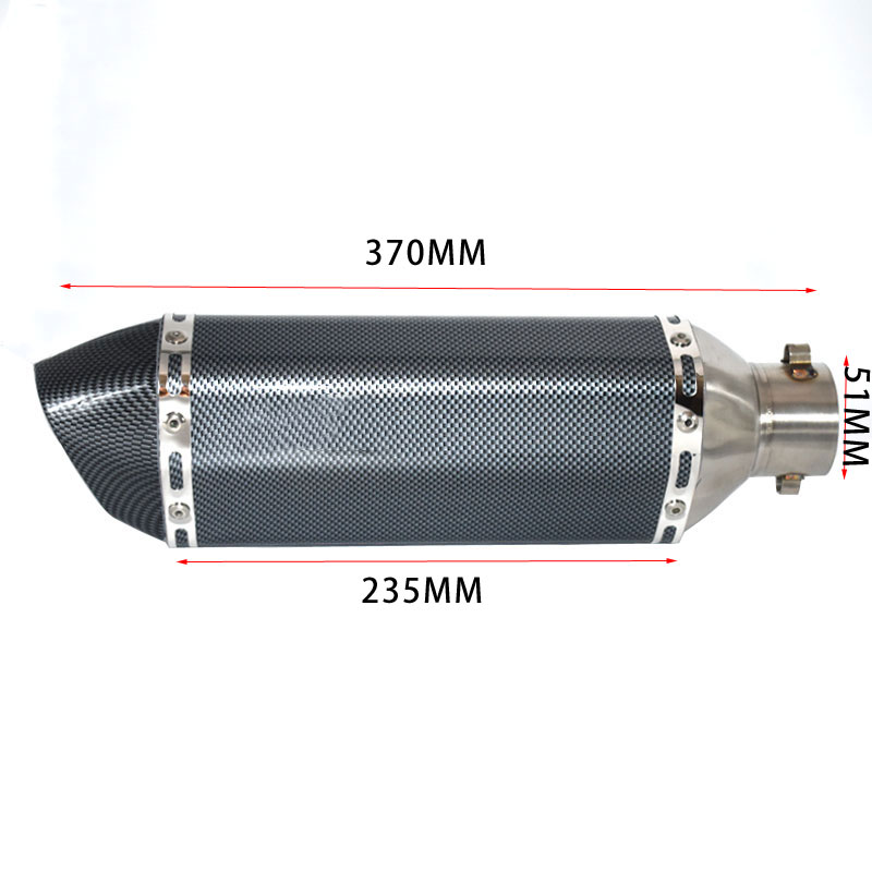 Image 2 - Universal akrapovic exhaust motorcycle muffler escape moto with db killer Exhaust Systems for honda benelli msx125 nmax155-in Exhaust & Exhaust Systems from Automobiles & Motorcycles