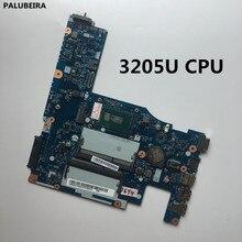 PALUBEIRA Протестировано ACLU3/ACLU4 UMA NM-A362 для LENOVO G50-80 Материнская плата ноутбука с процессором 3205U cpu SR215