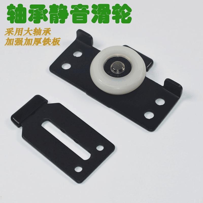 Manufacturers Direct Selling Sliding Door Wheel Wardrobe Sliding Door Wheel Aggravate Bearing Wheels Cabinet Furniture Pulley Th