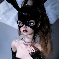 BJD Dolls Vojta 1/4 Female Ball Jointed Doll High Fashion Hobby Collection Bunny Girl Model Ballet Dancer Shugo Fairy