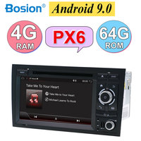 2 din android 9.0 octa cores car dvd player gps for Audi A4 B6 B7 S4 B7 B6 RS4 B7 SEAT radio head unit canbus 64G ROM