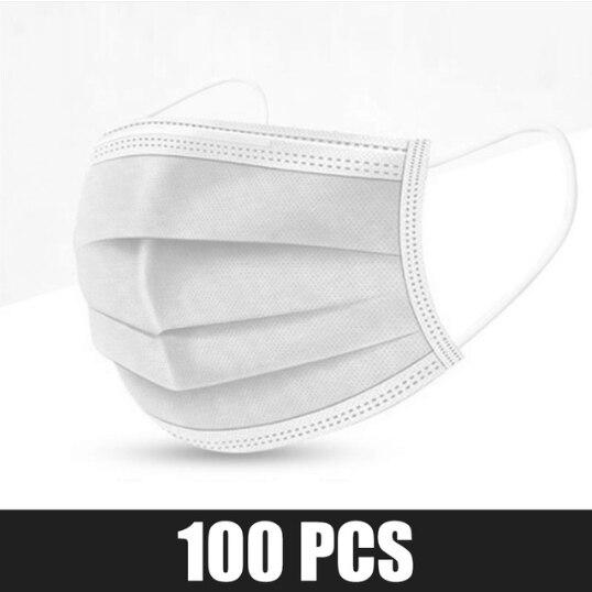 100 pcs White