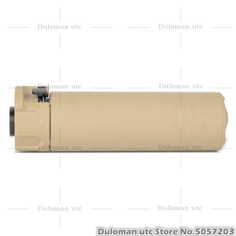 Duloman UTC SF SOCOM 556/762 Series Mock Penekan W/Flash Hider untuk Airsoft Senapan 14 Mm CCW dummy Suara Suppressor