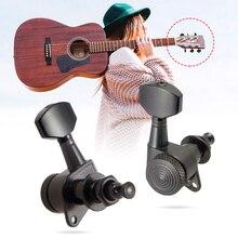 6/8 قطعة 6R/8R سلسلة ضبط الجيتار الأيمن الأيسر أوتاد قفل موالف مفاتيح آلة رؤوس لأجزاء الجيتار الصوتية وملحقاتها
