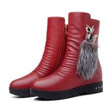 Женская обувь moolecole новые модные женские зимние сапоги с