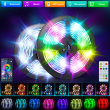 RGBWW Led Strip Lights 2835 5050 RGB LED lights for Room Bluetooth WIFI Alexa Waterproof Warm White Flexible Ribbon Tape Diode
