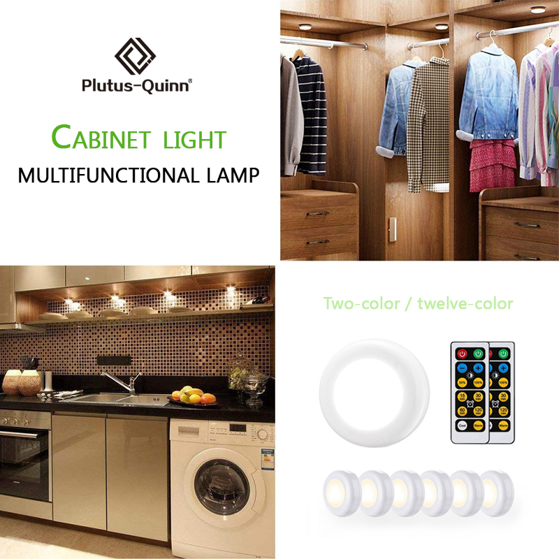 2020 New Arrival Remote 2 Colors/12 Colors Night Lights For Kitchen / Living Room / Corridor Lamp As Christmas Night Lamp