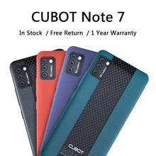 CUBOT Note 7 téléphones mobiles 3100mAh batterie arrière Triple caméra Smartphone Android 10 entreprise sauvegarde 5.5