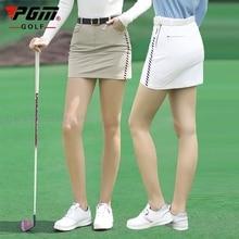 2021 Pgm Women's Golf Skirt Summer Sports Golf Apparel Quick Dry Short Skirt For Ladies Slim Fit Pencil Casual Skorts 골프웨어