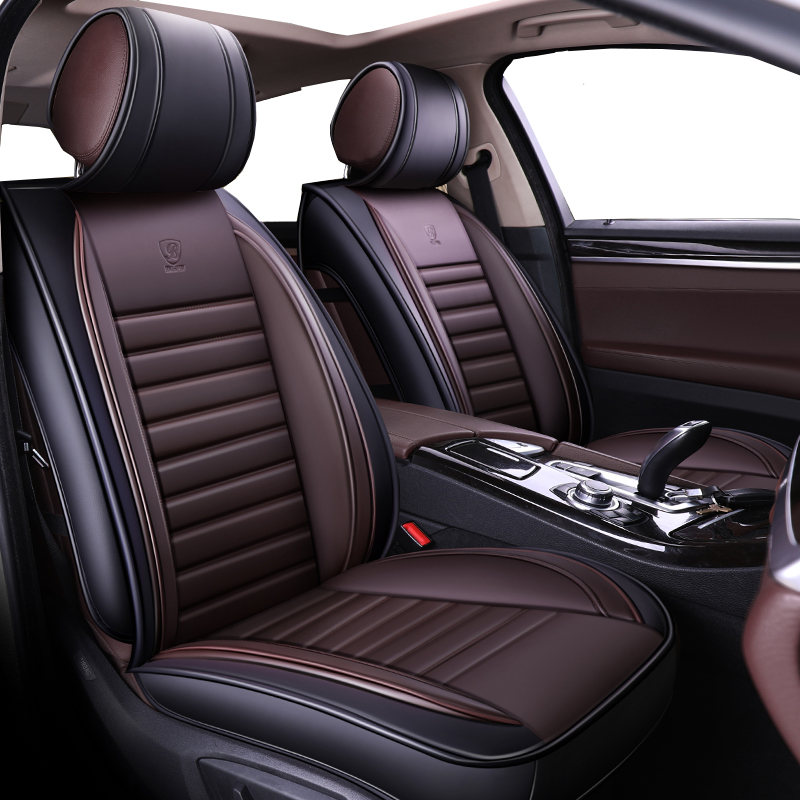 W203 Universal Eco-Leather Full Set Car Seat Covers Mercedes Class C W202
