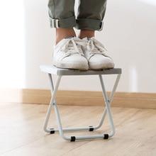 Foldable Bath Shower Chair Bathroom Light Folding Seat Plastic Fishing Chair Home Furniture foot stool