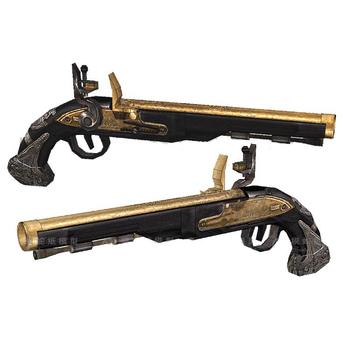 Model papierowy pistolet Flint broń broń palna ręcznie robione rysunki 3D papierowe zabawki-puzzle tanie i dobre opinie CN (pochodzenie) Tektury Paper Gun need buyer to handmade Dorośli Zawodów