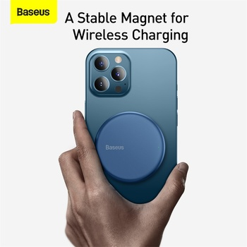 Магнитное Беспроводное зарядное устройство Baseus 15W 6