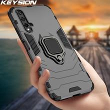 Keysion Shockproof Case Voor Huawei Nova 5T Y6s Y9s P40 Lite P30 Pro P20 Magnetische Back Telefoon Cover Voor honor Play 3 V20 V30 Pro