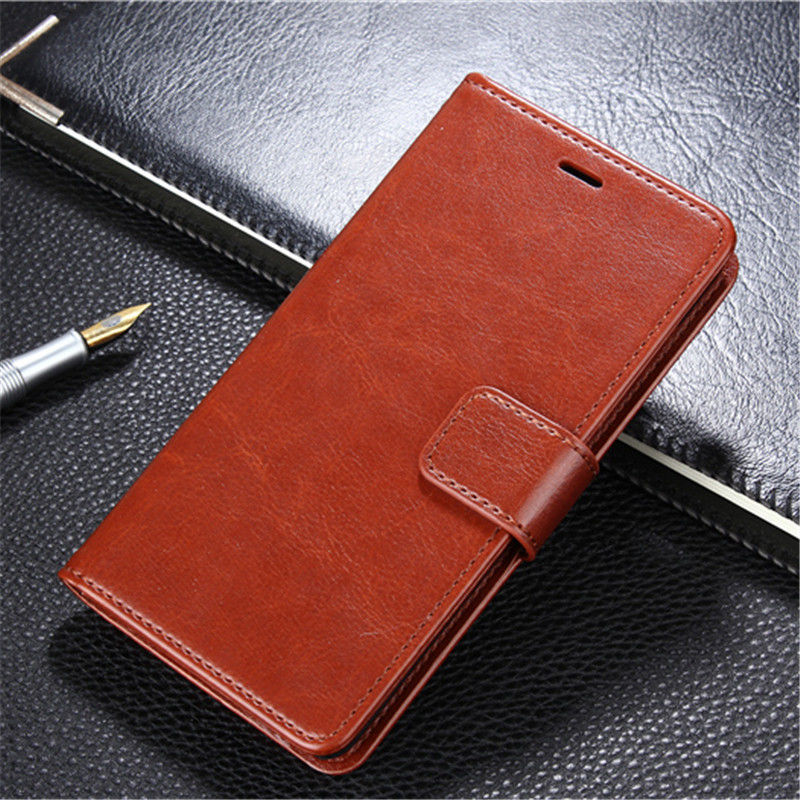 Howanni Business Leather Case For vivo V9 Youth Case Flip Retro Wallet Phone Cover For vivo Y85 vivo V9 Youth Cover Phone Bag