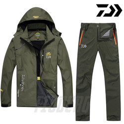 Daiwa Fishing Clothes Sports Outdoor Fishing Clothing Quick-drying Pants Men's Fishing suit Breathable Sunscreen Fishing Jacket