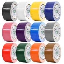A fita adesiva de alta viscosidade fita adesiva multicolorido diy a fita adesiva de pano de cor fita adesiva de pano