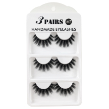 Eyelashes 3D Mink False Eyelashes Lashes Thick HandMade Lashes Fake Lashes Makeup Eyelash kit