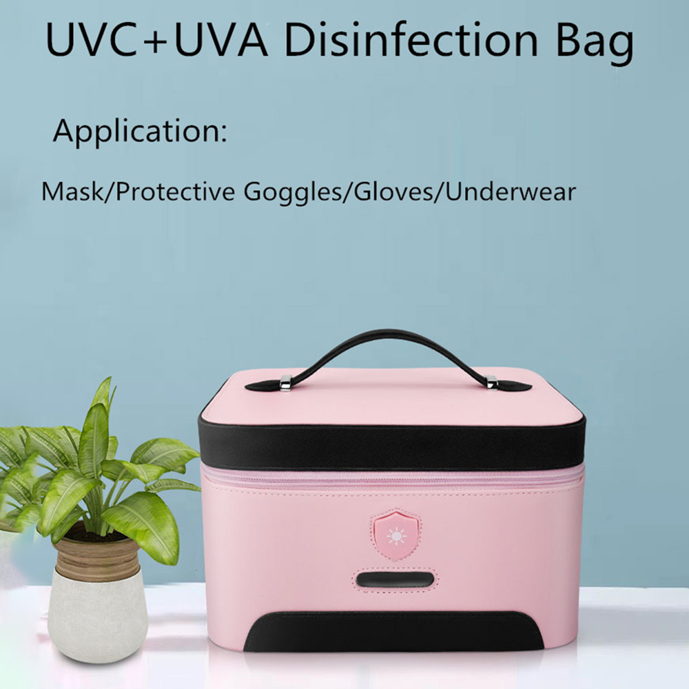 Uv Sanitizer Box Uv Phone Sanitizer Lamp Underwear Sterilizer Household Germicidal Light 5V Sterilizer Box Bag For Toothbrush