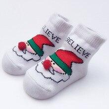 2019 Christmas Baby Socks Children Santa Socks Girls Boys Sokjes Soft Kids Socks