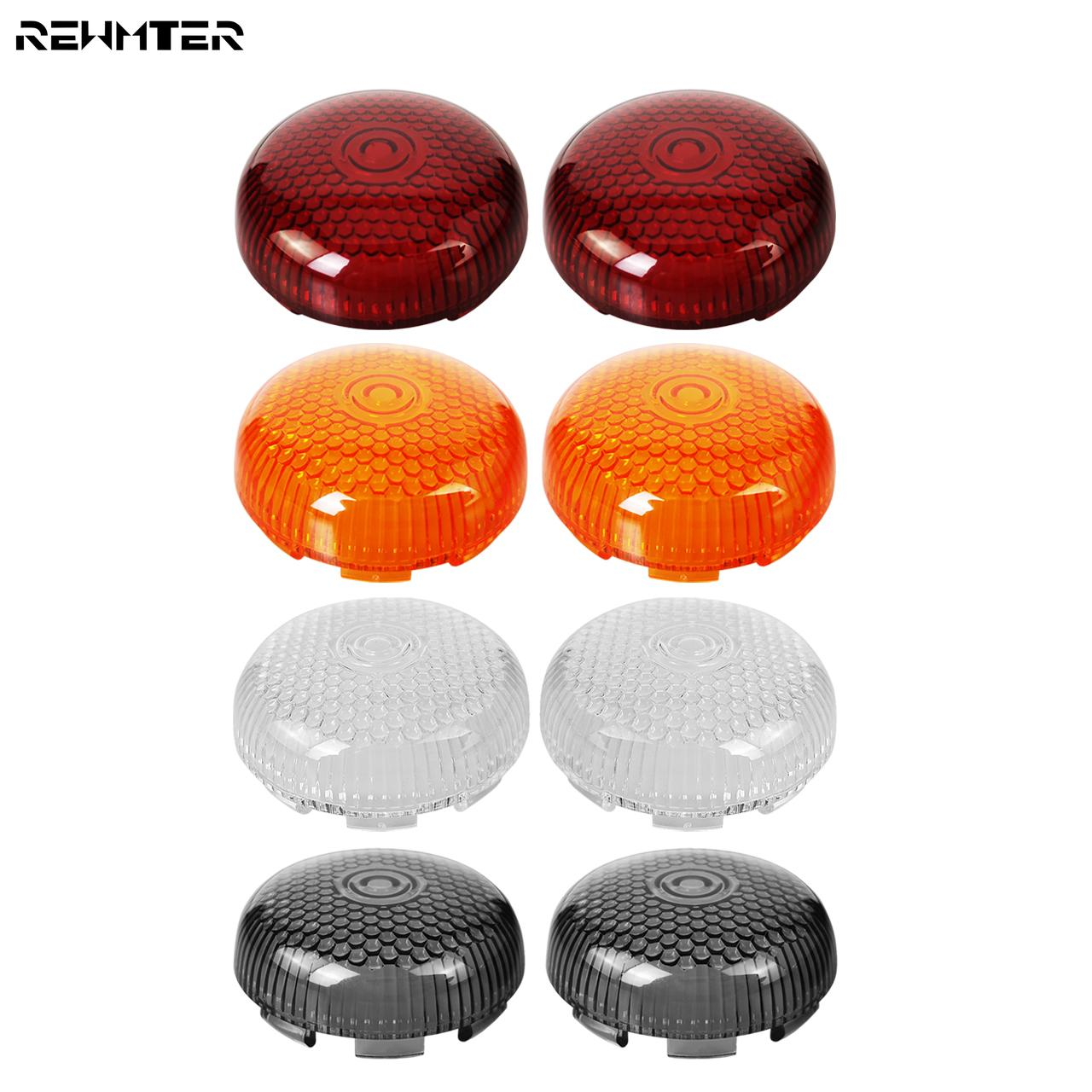 Motorcycle Turn Signal Indicator Lens Light Lamp Cover For Harley Sportster 883 1200 Touring Dyna Softail Road King Heritage
