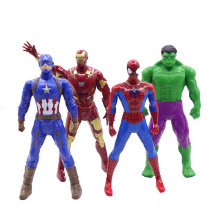 17 cm Marvel miracle toy magic hero Spiderman 1 / 10 scale PVC action chart superhero collection model