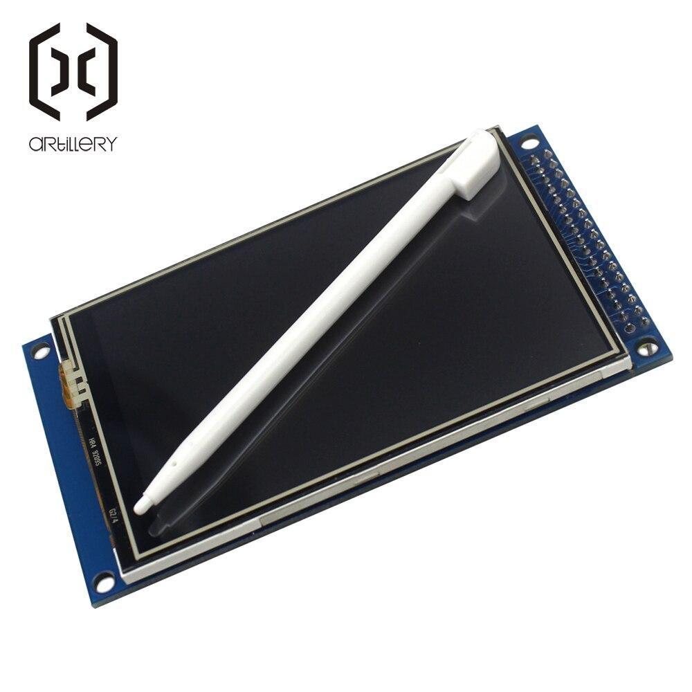 Électronique intelligente 3.5 pouces TFT écran tactile LCD Module affichage 320*480 avec adaptateur PCB 3.5 ''320x480 pour arduino kit de bricolage