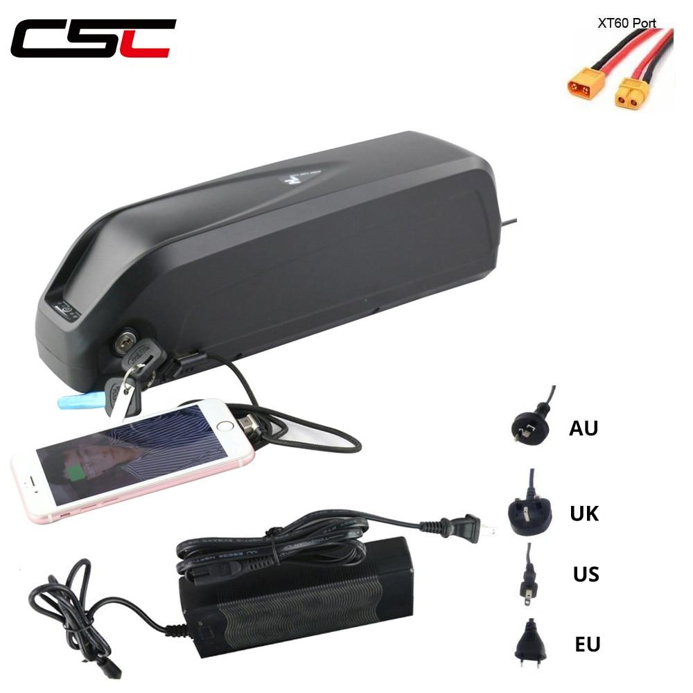 17Ah E-Bike Batterie pour e-Bike avec Chargeur et Serrure Antivol 15Ah Batterie pour Velo /électrique 36V Li-ION Rechargeable 10Ah