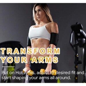 1 пара Для женщин Эластичный компрессионный формируя рукава для похудения рук Shaper рукава массажер рука обертывания|Женские нарукавники|   | АлиЭкспресс