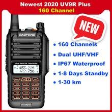 2020 新加入baofeng uv 9Rプラストランシーバー双方向ラジオvhf uhf 30 50 キロ長距離ハムcbラジオ局UV9Rプラス 160 チャンネル