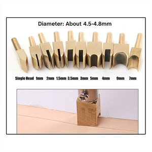 Leder Rand Heißer Prozess Elektrische Eisen Messing Kopf Leathercraft Solder Eisen Spitze Leder Handwerk Reinem Messing DIY Tools 3 Nut