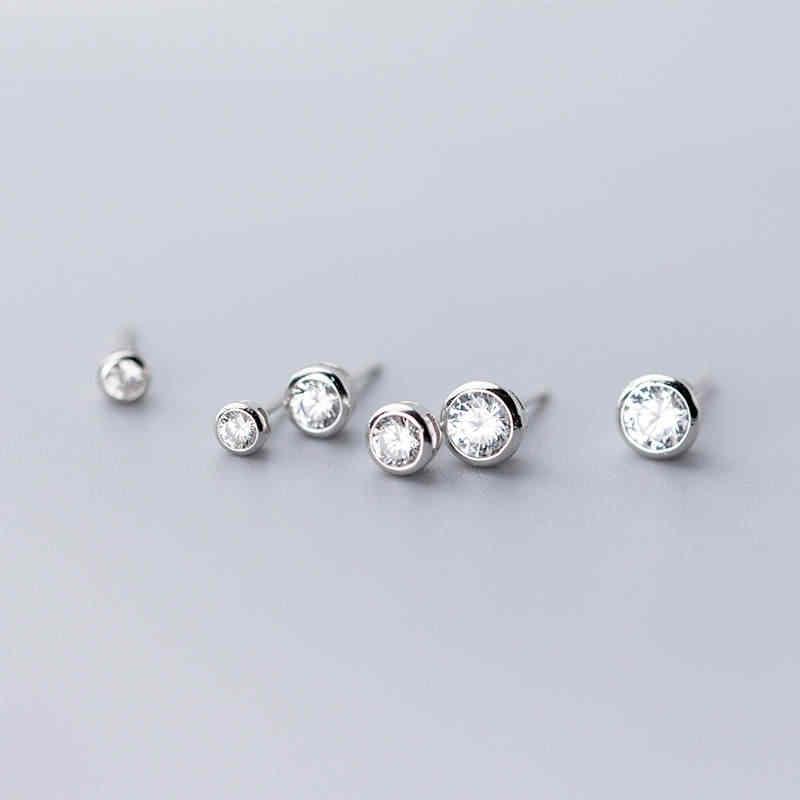 Inzatt Nyata 925 Sterling Silver Daun Rumbai Anting-Anting Anting-Anting untuk Wanita Pesta Minimalis Fine Perhiasan Lucu Aksesoris Hadiah