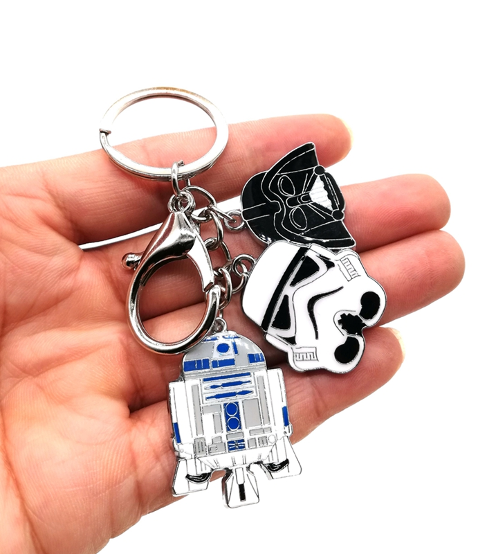 Star Wars  1 Pcs Keychain Jewelry Accessories Key Chains Pendant Gifts Favors