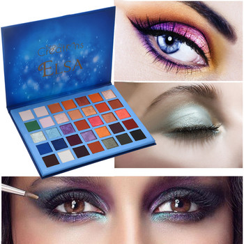 35 Colors Cosmetic Powder Eyeshadow Palette Makeup Natural Shimmer Matt Compact Smoked make-up Pearl light Eye shadow Set