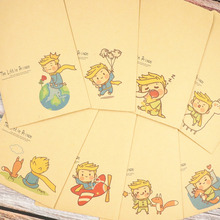 8 Kawaii Kraft Paper Letter Envelope Cartoon Painting Notebook Diary Student School Office Greeting Invitation Stationery Gift