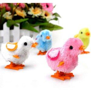 Детские Классические оловянные игрушки, набитые курицей, заводные на цепочке, Цыпленок, курица, подарки для детей, мальчики, девочки, случай...