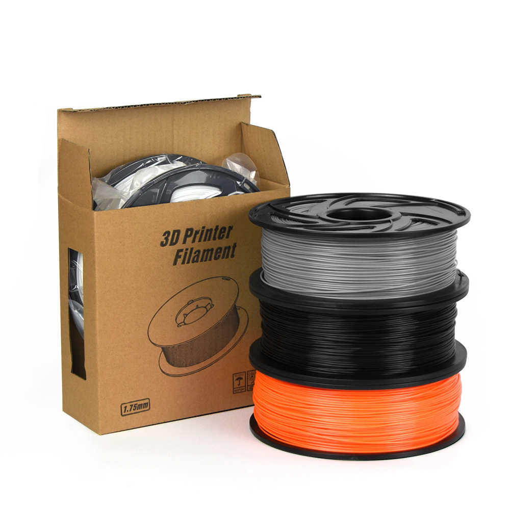 Pla/Abs Flexibele 3D Printer Gloeidraad 1.75 Mm 1Kg Plastic Supplies Filament Materiaal Voor Reprap 3D Filament Abs/Pla Filament