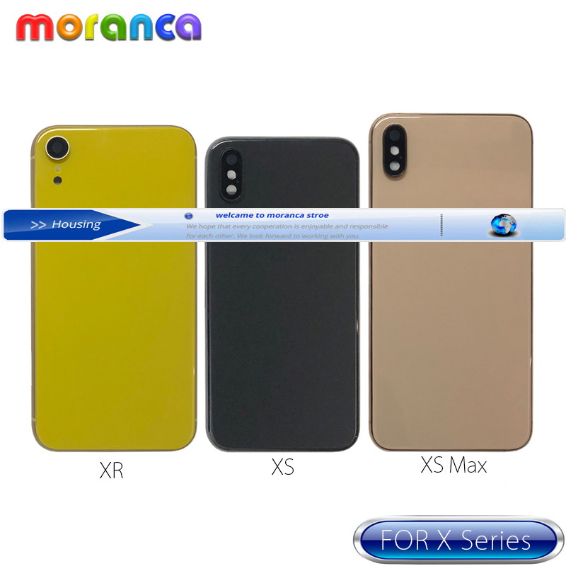 Купить задний корпус xs для iphone xr x xsmax задняя крышка аккумулятора