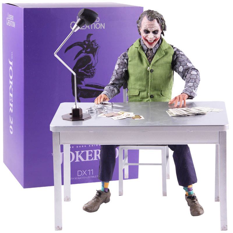 Batman The Dark Knight The Joker 20 DX11 1/6th Scale Collectible Figure Joker Action Figure Hot Toys for Boys Gift 30cm