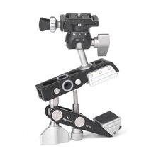 Marsace дизайн MC-02 MC02 мощный универсальный зажим клип с шаровой головкой комплект для Canon Nikon sony камеры